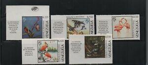 Venezuela: 1988; complete set Fauna  imperforated. VZ1028