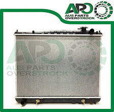 Heavy Duty Aftermarket Radiator For NISSAN Elgrand 3.2L E50 Turbo Diesel