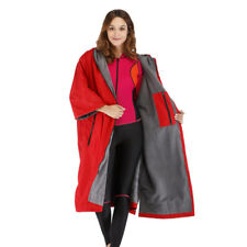Windbreaker Long Anorak Soft Windproof Changing Robe Surfing Poncho Raincoat