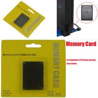 256MB/128MB/64MB/32MB/16MB Memory Card Speicherkarte für Sony Playstation 2 PS2