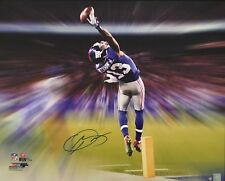 ODELL BECKHAM JR. Signed The Catch Motion Blast 24 x 30 Canvas STEINER LE 3/13