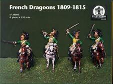 Waterloo 1815 Miniatures 1/32 FRENCH DRAGOONS 1809-1815 Figure Set