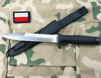 Military Knife wz98NZ Saw Polish Army Special Forces Trench Fight Combat Gerlach