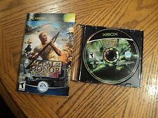Medal of Honor: Rising Sun (Microsoft Xbox, 2003)  Disk, Manual & Jewel Case