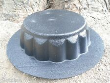 riser 'pedestal mold concrete mold garden ornament short birdbath stand mould
