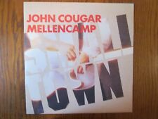 """John Cougar Mellencamp Small Town Pink Houses 12"""" UK Import w/ Acoustic version"""