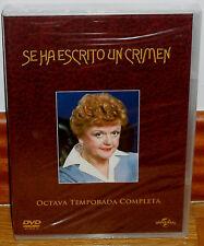 SE HA ESCRITO UN CRIMEN 8ª TEMPORADA COMPLETA 6 DVD NUEVO SERIE (SIN ABRIR) R2