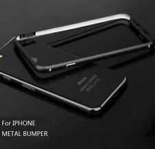 Aluminum Metal Case For iPhone XS X MAX XR 5 6 7 8 Plus Protective Shield Frame
