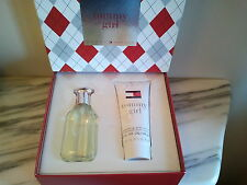 TOMMY HILFIGER GIRL WOMENS EDT SPRAY AND BODY LOTION GIFT SET NEW