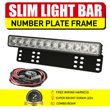 NEW 15INCH OSRAM LED Driving Light Bar Slim License Plate Light Combo Headlight