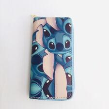 lilo&stitch pet PU purse wallet card unisex bag handbag wallets cartoon new