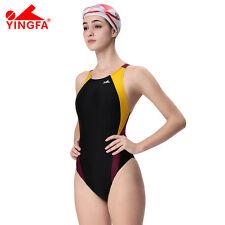 f713983d78 Yingfa Womens Girls Competition Racing Training Swimsuit 976 XS S M L XL  XXL 3xl 12 976-