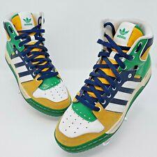 Adidas Mens Originals Conductor Hi Tops Olympics Green Gold White Size 11 768083