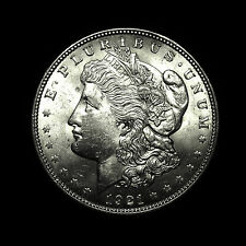 1921 ~**ALMOST UNCIRCULATED AU**~ Silver Morgan Dollar Rare US Antique Coin!