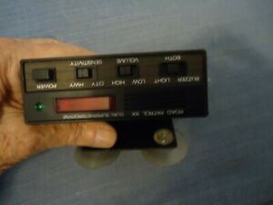 Vintage Micronta Road Patrol XK Band Radar Detector
