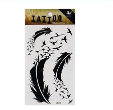 Adesivi per tatuaggi temporanei temporanei rimovibili impermeabili unisex
