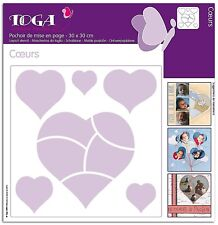 "Globe Template 12""x12"" 30x30cm Craft Stencil Scrapbooking Layering Drawing Shape"