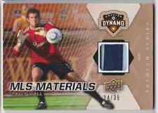 2012 UD SOCCER MLS MATERIALS TALLY HALL JERSEY 2 COLORS 24/35 HOUSTON DYNAMO