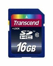 New SD SDHC Memory Card 16GB for Digital Cameras Class 10 - Transcend UK