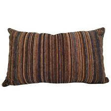"""Colorful Striped Upholstery 14x24"""" Decorative/Throw Pillow Case / Cushion Cover"""