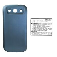 Akku-King Power-Akku für Samsung Galaxy S3 LTE GT-i9305 - Li-Ion 3300 mAh blau