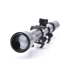 4X20 Telescopic Scope Sight Mounting Rifle Airgun Gun for Hunting Free ;l