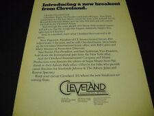 CLEVELAND INTERNATIONAL RECORDS 1977 promo ad w/ SUGAR MIAMI STEVE VAN ZANDT ref