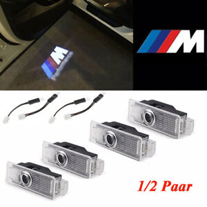 4PCS Car Door Welcome Lights Courtesy LED Projector Ghost Shadow Lights US