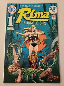 Rima the Jungle Girl #1. DC. May 1974. Ultra High Grade NM- 9.2/UP! Joe Kubert C