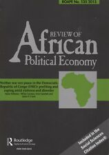 REVIEW OF AFRICAN POLITICAL ECONOMY, 135, 2013: Democratic Republic of the Congo