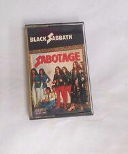 Black Sabbath - Sabotage Audio Cassette