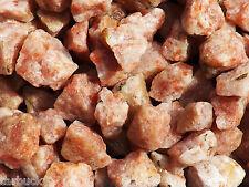 2 lb SUNSTONE Bulk Tumbling Rough Rock Stones Healing Crystals FS