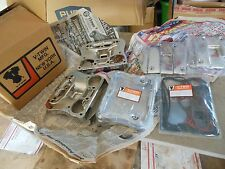#EV Harley Davidson HD New NOS V-twin Manf. XL Sportster chrome rocker cover kit