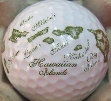 (1) Hawaii Hawaiian Islands Logo Golf Ball