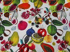 Designers Guild Fabric 'MANAOS' 2.1 METRES (210cm) Perroquet -  100% Cotton