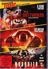 Creature Terror Collection - 3 Filme - Rottweiler / King Cobra / Mosquito