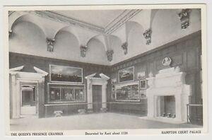 London/Surrey postcard - Hampton Court Palace. The Queens Presence Chamber (A574