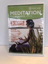 Meditation For Beginners with Maritza Mindful Yoga (DVD) EUC