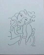 Henri Matisse Serigraph / Silkscreen La Fleur / The Flower