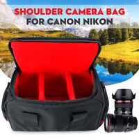 Waterproof Protective Shoulder Bag Travel Carrying Case Handbag For Canon Camera