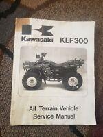 1986-1987 KAWASAKI KLF300 SERVICE MANUAL