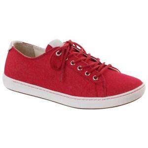 Birkenstock Women's ARRAN Red Canvas Sneakers