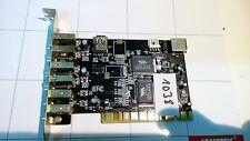 TARJETA PCI COMBO 2 PUERTOS FIREWIRE 4+1 USB CHIP VIA6212 + 6306 - REF 1038