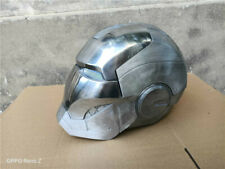 Iron Man Cosplay Helmet  Metal Mask 1:1 Cos Primary Color Collection XMAS Gift