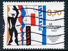 STAMP / TIMBRE FRANCE OBLITERE N° 2470  NAISSANCE DE LE CORBUSIER