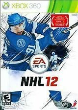 NHL 12 (Microsoft Xbox 360, 2011) VERY GOOD