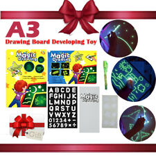 Drawing With Light Kids Drawing Board Magic Painting Educational Creative Toy