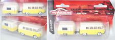 Majorette 212052014 VW Kastenwagen & Airstream Sport Wohnanhänger Burger orange