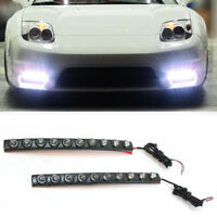 10 LED Daytime Running Fog Lights DRL Light For Citroen C2 C3 C4 C5 C6 C8 Nemo