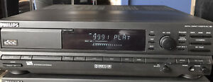 Rare Philips DCC 380 Hifi Digital Compact Cassette Recorder TESTED WORKING